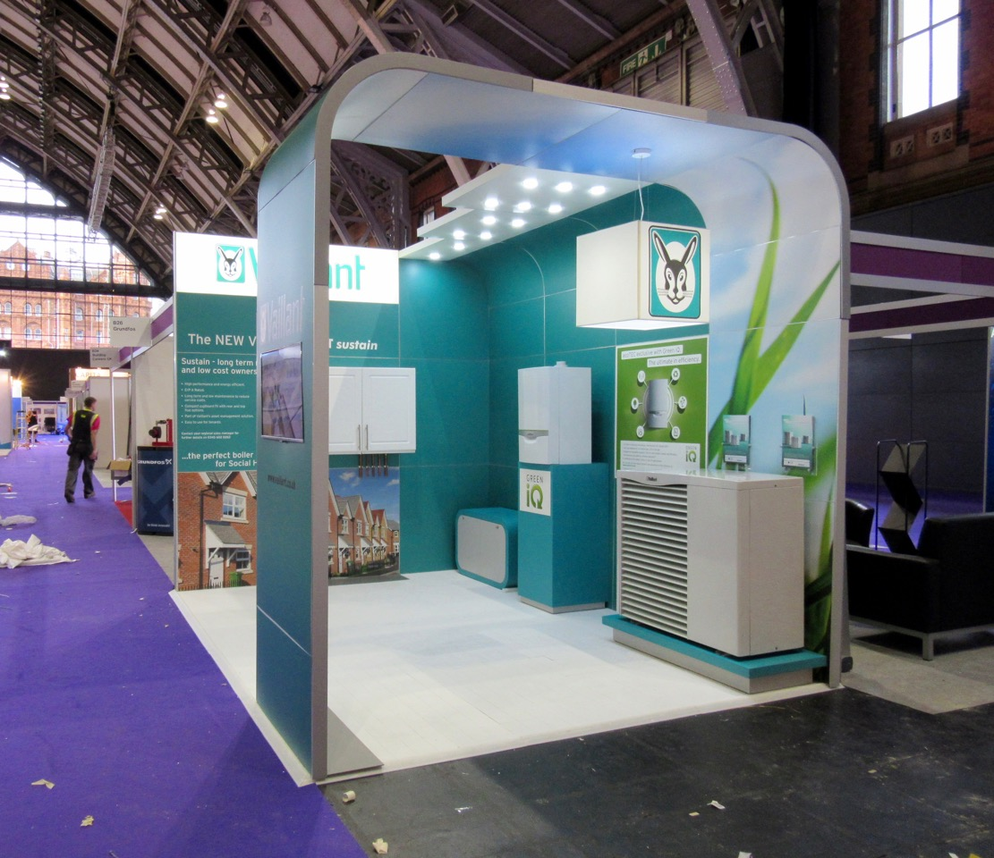 Exhibition Stands Oxfordshire : Vaillant uk various events