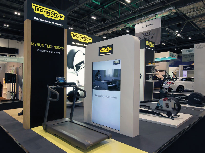 Lighting For Exhibition Stand : Technogym grand designs live