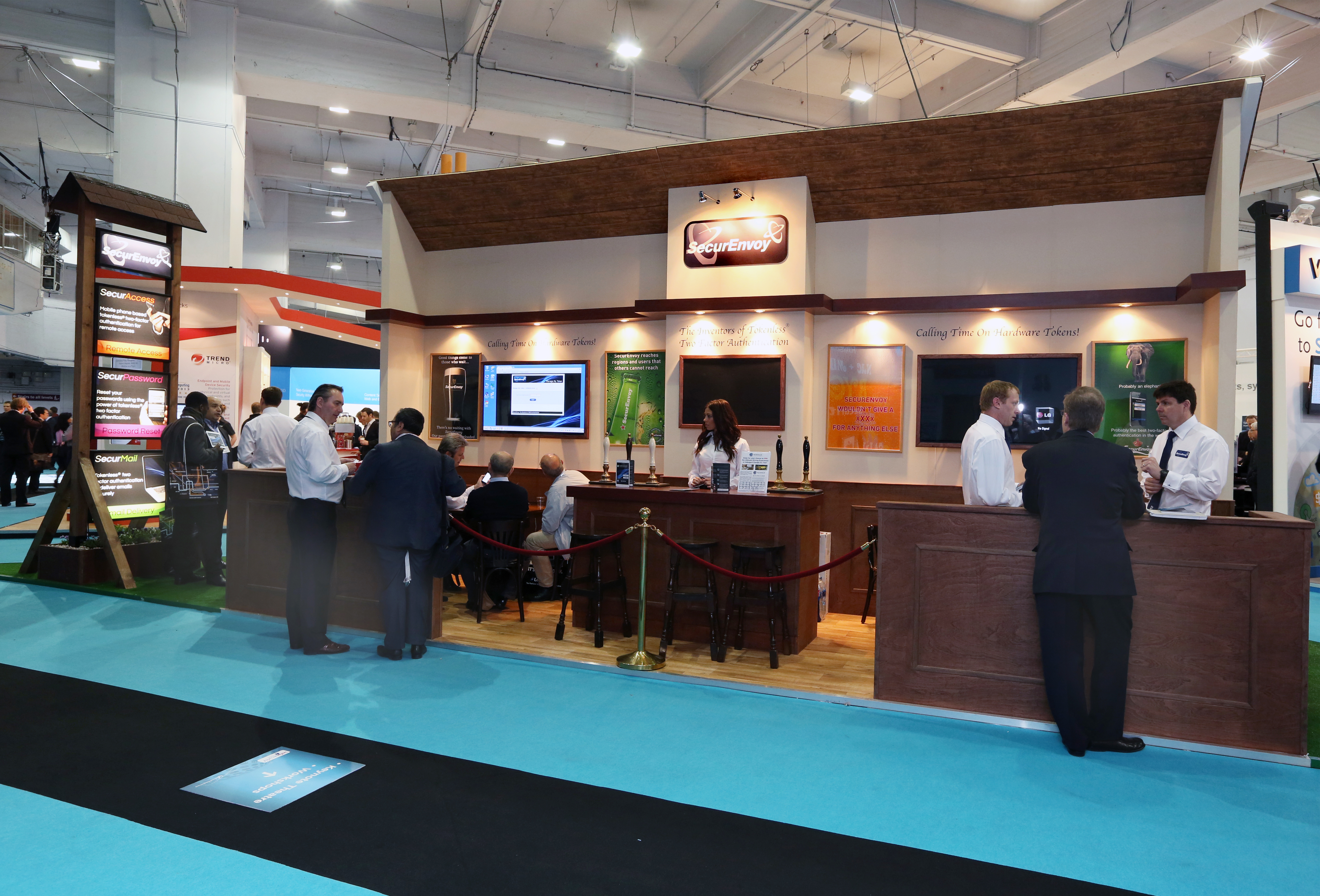 Secure Envoy Arms - Bespoke Exhibition Stand - Imagine Events