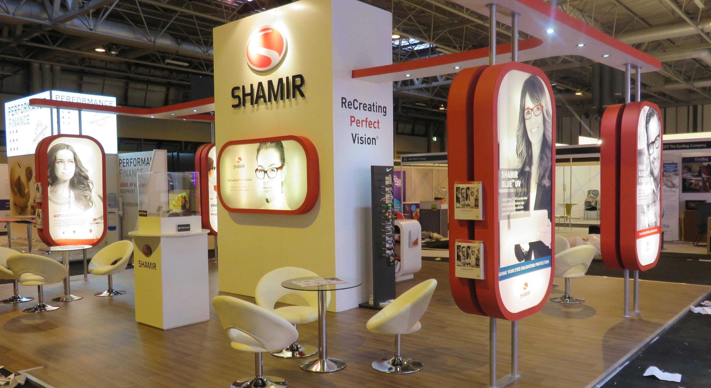 Shamir - Bespoke Exhibition Stand - Imagine Events