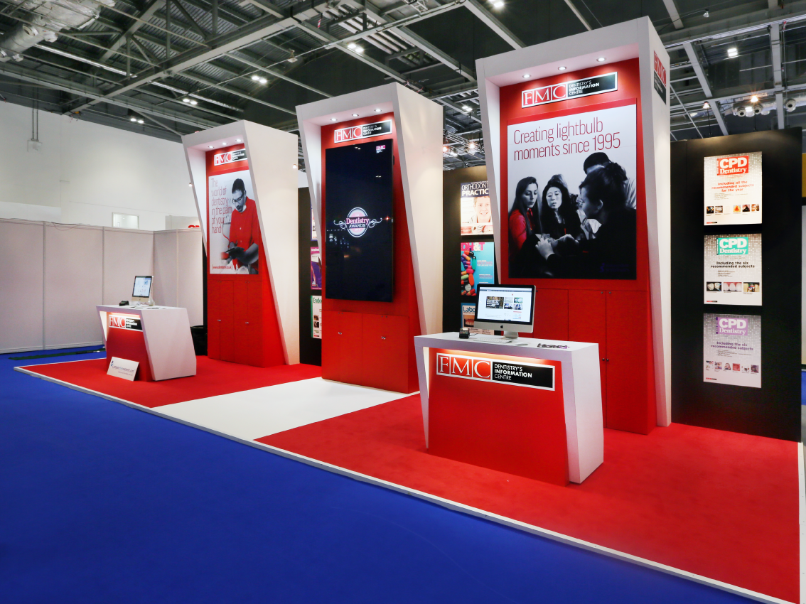 FMC - Bespoke Exhibition Stand - Imagine Events