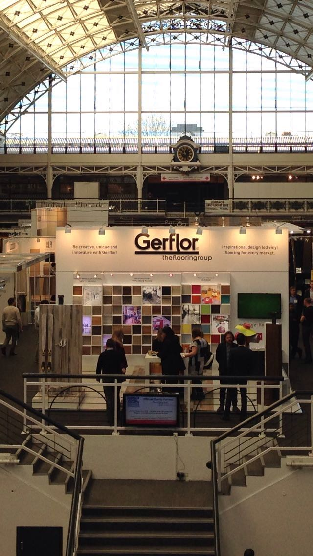 Exhibition Stands Oxfordshire : Gerflor sleep and surface design show