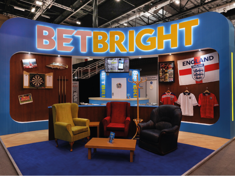 BetBright Bespoke Exhibition Stand LAC2017